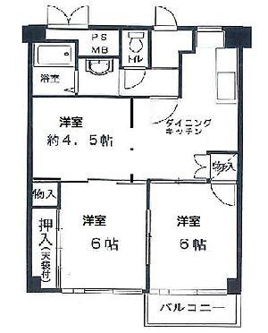 マンション(建物一部)-大阪市西区北堀江4丁目 使い勝手の良い3DK