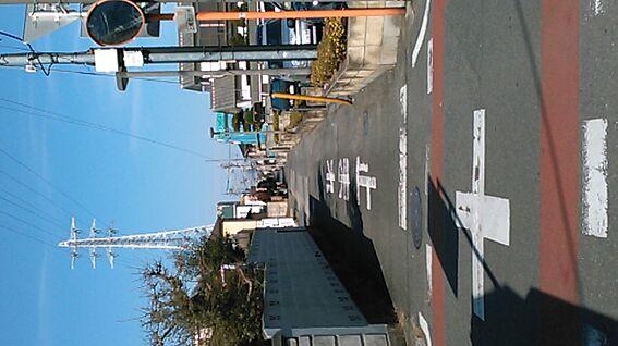 新築一戸建て-上尾市上町1丁目 接道道路/北東側公道・前面道路