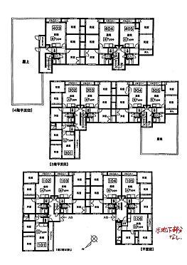 マンション(建物全部)-札幌市北区新川二条3丁目 間取り