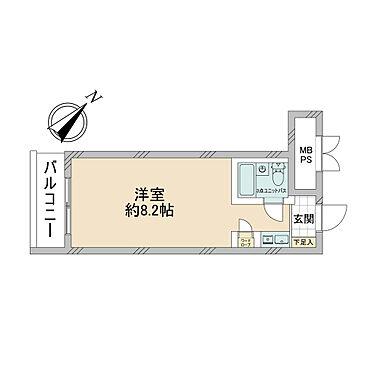 マンション(建物一部)-横浜市中区蓬莱町2丁目 間取り