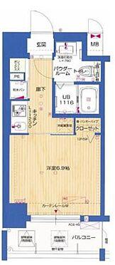 マンション(建物一部)-大阪市北区中津4丁目 間取り