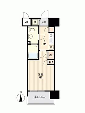 マンション(建物一部)-大阪市中央区瓦屋町2丁目 間取り