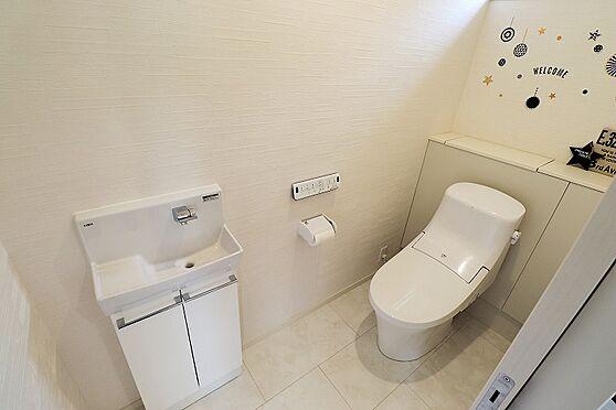 中古一戸建て-仙台市若林区荒井南 トイレ
