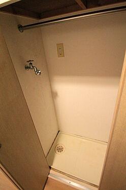 マンション(建物一部)-文京区千石2丁目 室内洗濯機置き場(パイプハンガー掛け有り)