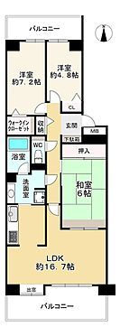 中古マンション-大阪市都島区友渕町1丁目 間取り
