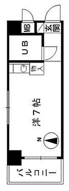 マンション(建物一部)-北九州市八幡東区中央1丁目 間取り
