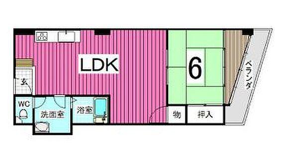 マンション(建物一部)-神戸市兵庫区湊川町4丁目 使いやすい間取り