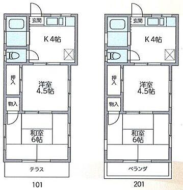 アパート-川崎市麻生区王禅寺西7丁目 間取り