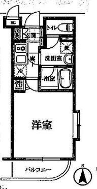 中古マンション-川崎市多摩区東三田1丁目 間取り
