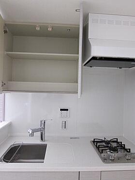マンション(建物一部)-千代田区神田三崎町3丁目 コンパクトですが作業スペースも確保しつつ、2口コンロでお料理も楽々