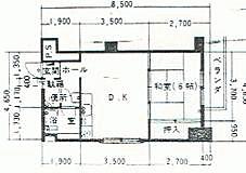 マンション(建物一部)-札幌市中央区南4丁目 間取り