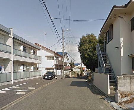 アパート-松戸市常盤平2丁目 前面道路