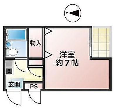 マンション(建物一部)-尼崎市南武庫之荘4丁目 間取り