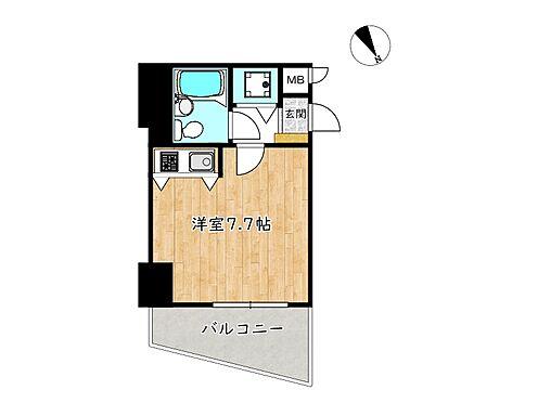 区分マンション-姫路市飾磨区三宅1丁目 間取り