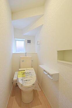 新築一戸建て-仙台市泉区上谷刈1丁目 トイレ