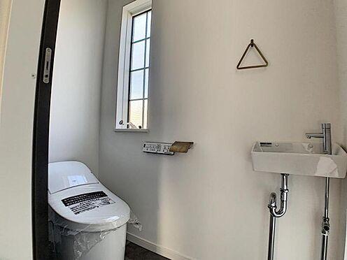 新築一戸建て-名古屋市守山区小幡北 手洗い付きのトイレ