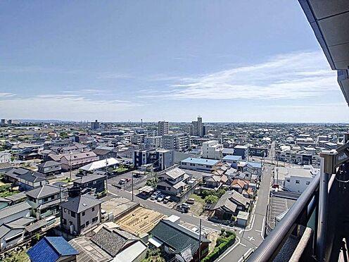 中古マンション-豊田市寿町7丁目 11階からの眺めは素敵ですね♪通風も良好です!