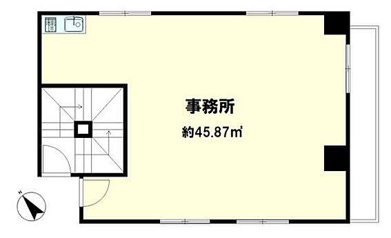 マンション(建物一部)-中央区新富1丁目 間取り