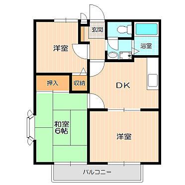 アパート-千葉市中央区寒川町3丁目 ファミリーにおすすめの3DK