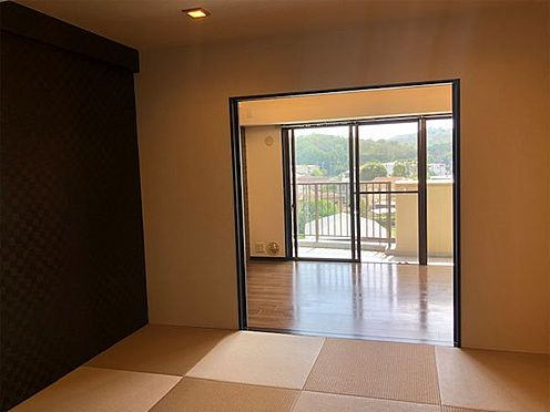 中古マンション-伊東市荻 【和室】琉球畳に変更してあります。