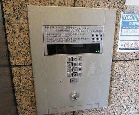 マンション(建物一部)-大阪市西区新町4丁目 セキュリティにも配慮