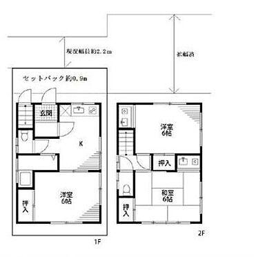 アパート-新宿区北新宿2丁目 間取り