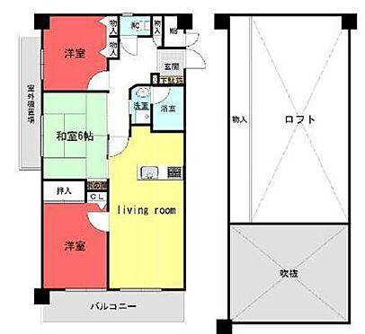 中古マンション-神戸市北区菖蒲が丘3丁目 間取り