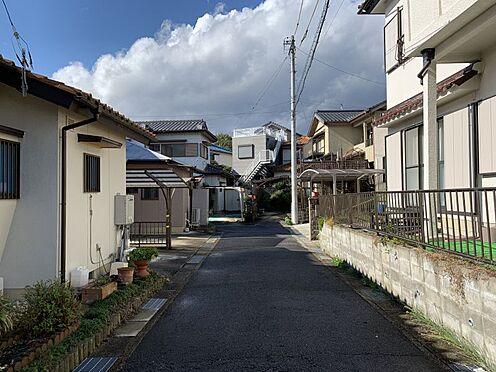 土地-豊田市西中山町神子塚 前面道路