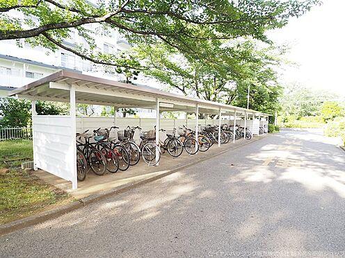 区分マンション-千葉市美浜区高浜3丁目 ゆったりスペースの駐輪場!
