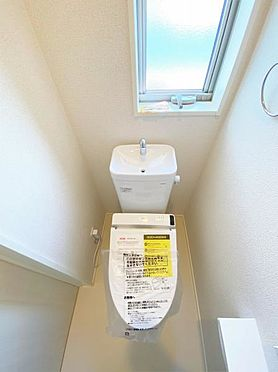 新築一戸建て-白石市東町2丁目 トイレ
