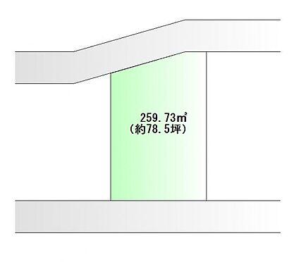 土地-仙台市青葉区水の森2丁目 区画図