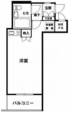 マンション(建物一部)-大阪市西区新町2丁目 ひとり暮らしに使い勝手のいい間取り。