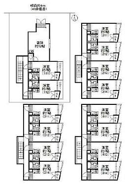マンション(建物全部)-東大阪市南鴻池町2丁目 間取り