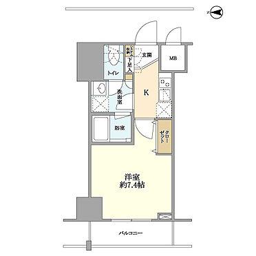 マンション(建物一部)-墨田区菊川3丁目 間取り