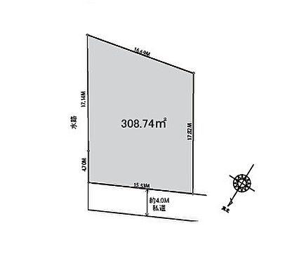 アパート-さいたま市桜区西堀9丁目 区割り図