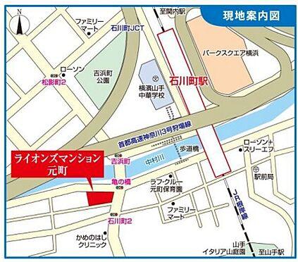 店舗(建物一部)-横浜市中区石川町3丁目 地図