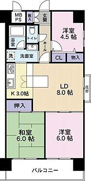 区分マンション-大阪市西成区岸里3丁目 間取り