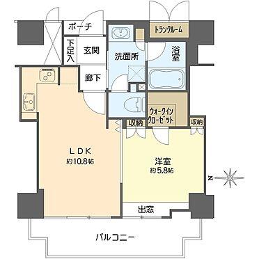 マンション(建物一部)-大阪市北区菅原町 間取り