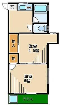 マンション(建物全部)-西東京市緑町3丁目 間取り