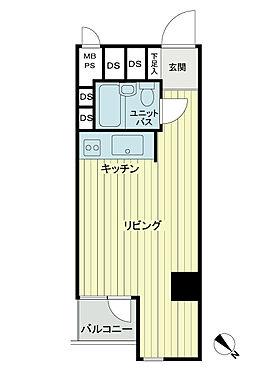 区分マンション-港区赤坂7丁目 間取り