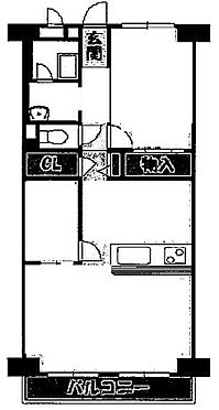 マンション(建物一部)-大阪市生野区鶴橋3丁目 ファミリーにもおすすめの2LDK