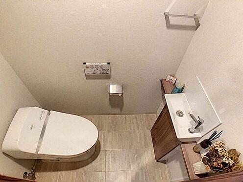 区分マンション-名古屋市名東区一社2丁目 手洗い付きトイレ
