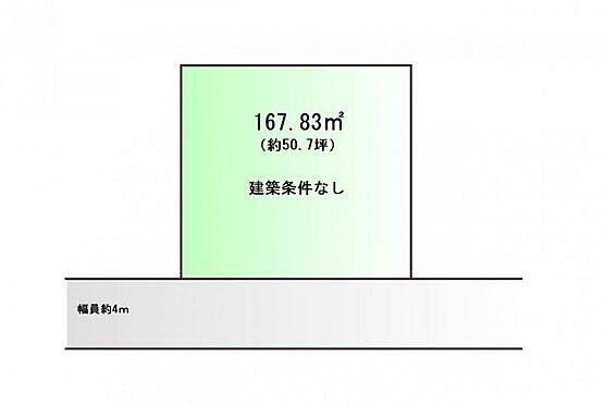 土地-仙台市青葉区台原3丁目 区画図
