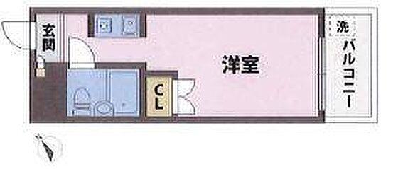 区分マンション-豊島区長崎6丁目 間取り