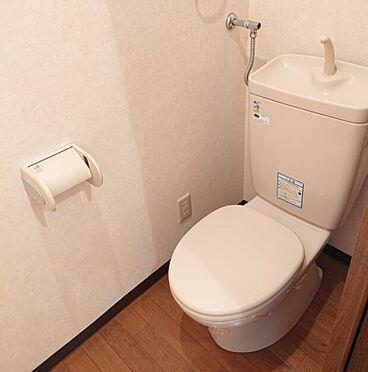 一棟マンション-函館市的場町 トイレ