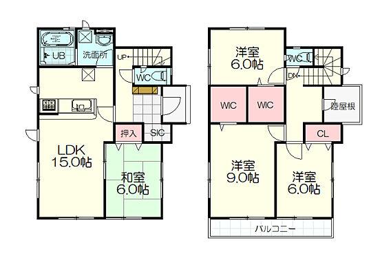 新築一戸建て-仙台市太白区西多賀2丁目 間取り
