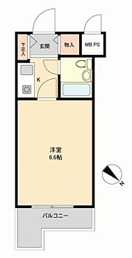 マンション(建物一部)-大田区東雪谷4丁目 間取り