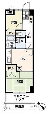 マンション(建物一部)-福岡市南区大橋3丁目 間取り
