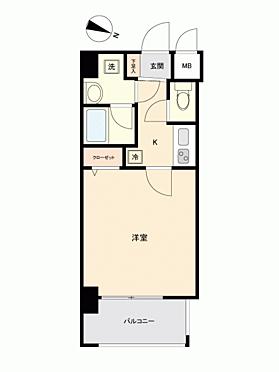 マンション(建物一部)-福岡市中央区荒戸1丁目 間取り