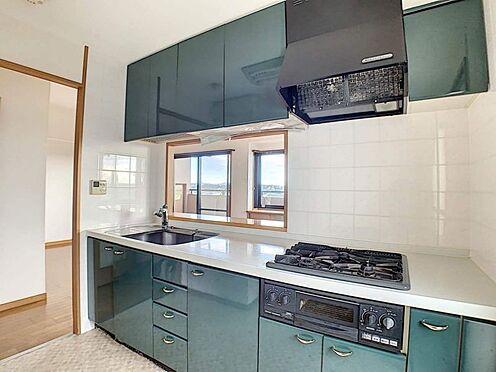 中古マンション-名古屋市守山区大森5丁目 収納が充実した広々キッチン